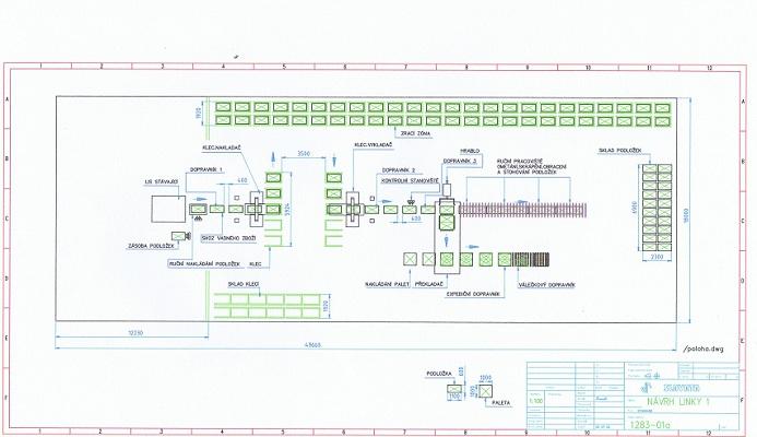 eac490a892 Technologický projekt poloautomatické linky na výrobu zámkové betonové  dlažby kliknutím zobrazíte maximální velikost obrázku