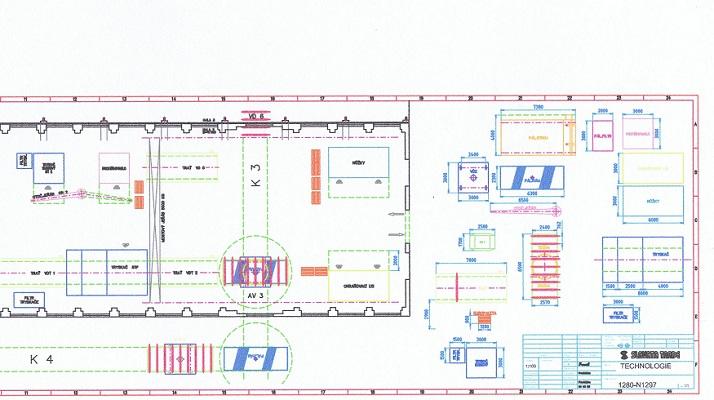 51aeaba2f9 Technologický projekt výroby výpalků a jejich otryskání kliknutím zobrazíte  maximální velikost obrázku